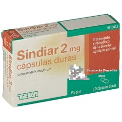 SINDIAR 2 mg 10 Cápsulas duras