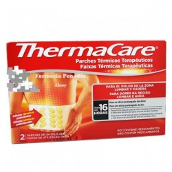THERMACARE lumbar y cadera 2 parches 16 Horas