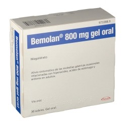 BEMOLAN 800 mg gel oral