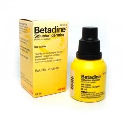 BETADINE solución dermica 50 ml.