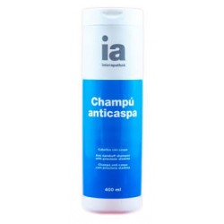 CHAMPU ANTICASPA IA 500 ml.