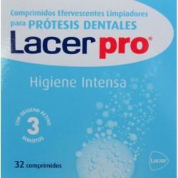 LACER PRO 32 comp. limpiador de protesis dentales