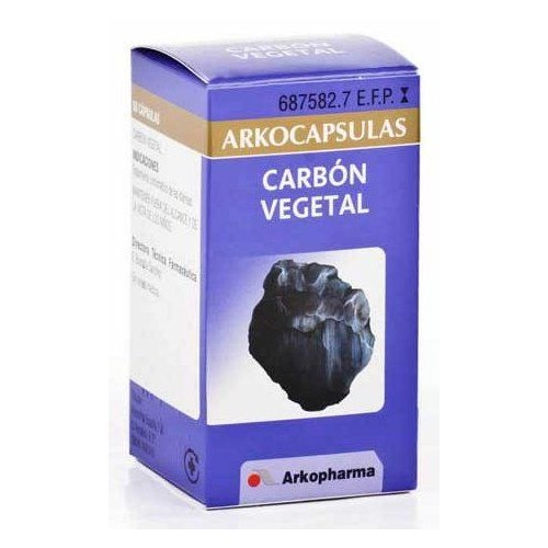 ARKOCAPSULAS carbón vegetal