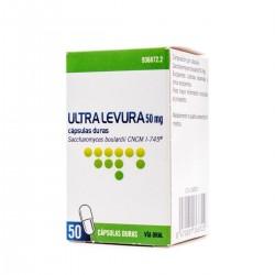 Imagén: ULTRALEVURA 50 mg 50 capsulas duras
