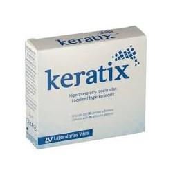 KERATIX 36 parches adhesivos