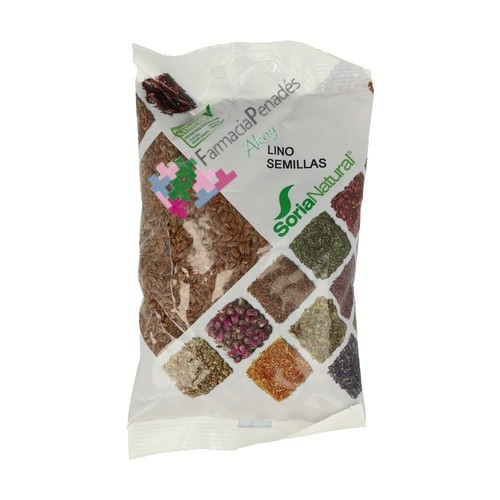 LINO semillas 500g. SORIA NATURAL