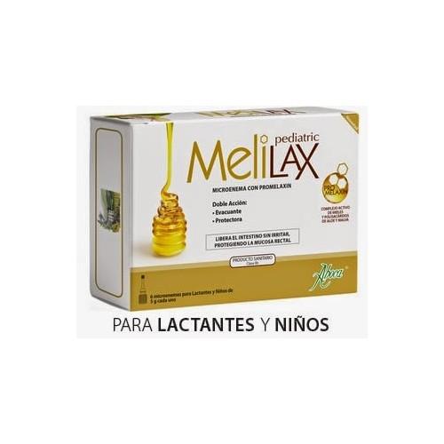 MELILAX enemas pediatrico 5g 6 microenemas