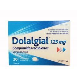 DOLALGIAL 125 mg. 20 comp.