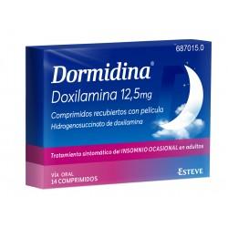 DORMIDINA (12.5 MG 14 COMP. RECUBIERTOS)