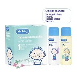 Pack  Completo Tratamiento Antipiojos Alvita