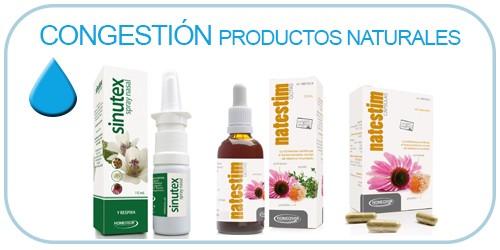 congestión productos naturales